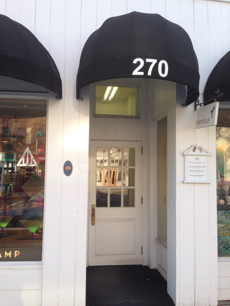 270 Greenwich Ave. Office Entrance